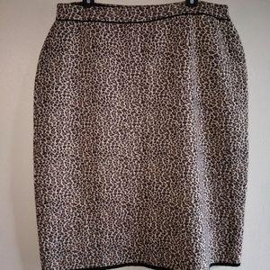 Vintage Bloomingdale's Merino Wool Skirt sz 2X